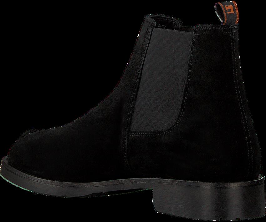 Zwarte SCOTCH & SODA Chelsea boots PICARO  - larger