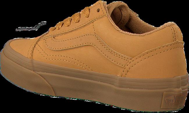 Gele VANS Sneakers OLD SKOOL KIDS  - large
