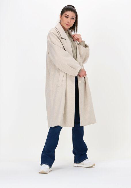 Beige SUMMUM Mantel COAT GABARDINE  - large