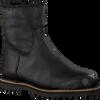 Zwarte SHABBIES Enkellaarsjes 181020130 - small