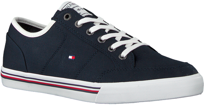 Blauwe TOMMY HILFIGER Lage sneakers CORE CORPORATE  - large
