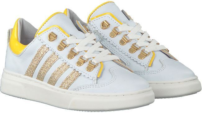 Witte PINOCCHIO Lage sneakers P1327  - large