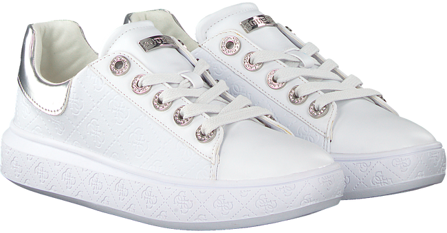 Witte GUESS Sneakers BUCKY  - large
