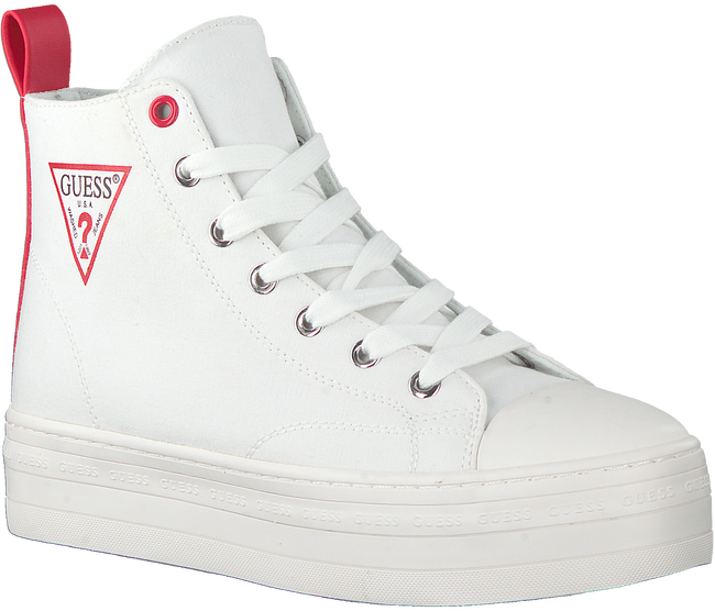 Witte GUESS Hoge sneaker BOKAN  - large