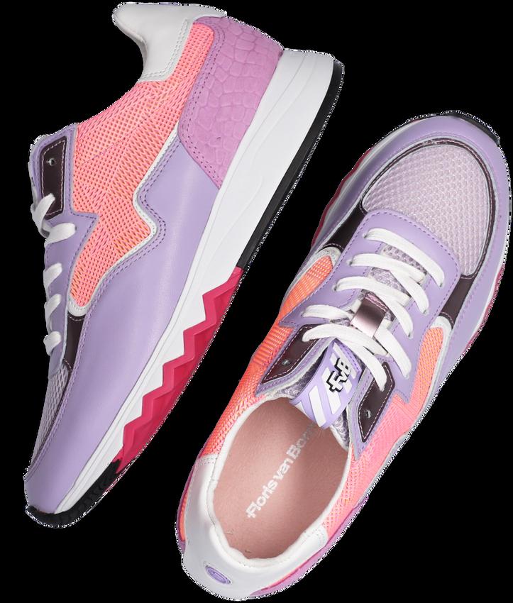 Paarse FLORIS VAN BOMMEL Lage sneakers 85334  - larger