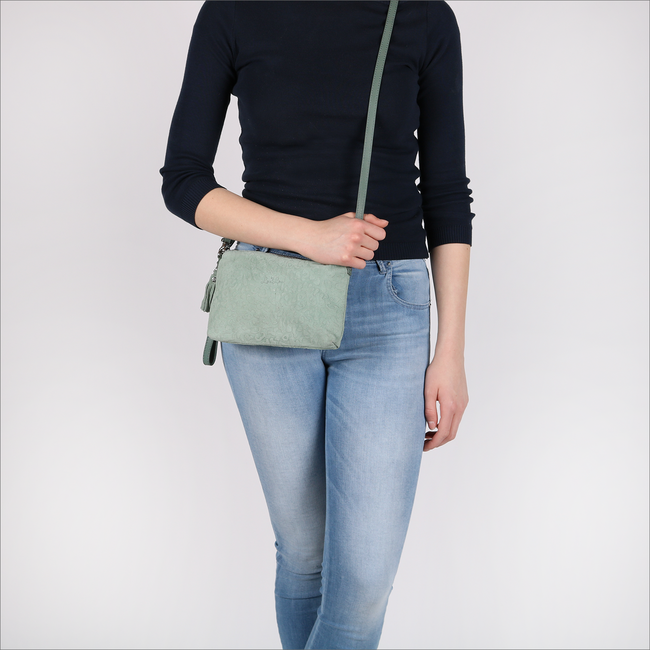 Groene BY LOULOU Clutch 01POUCH117S - large