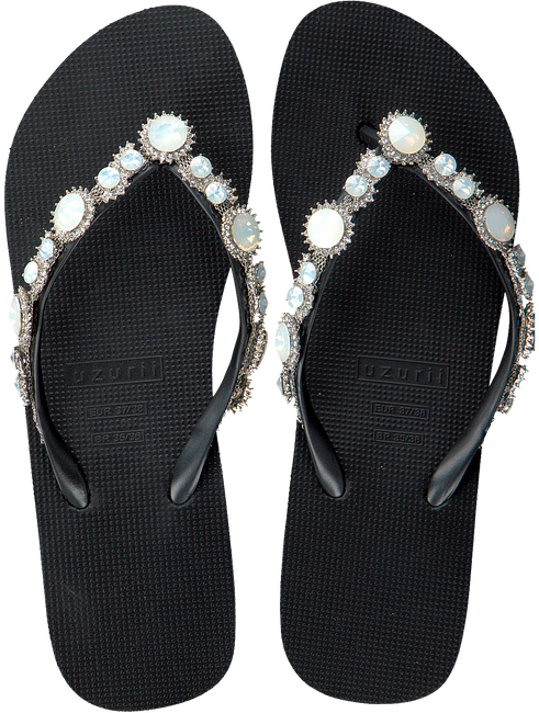 Zwarte UZURII Slippers PEARL MARILYN MH - large