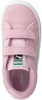 Roze PUMA Sneakers SUEDE 2 STRAPS - small