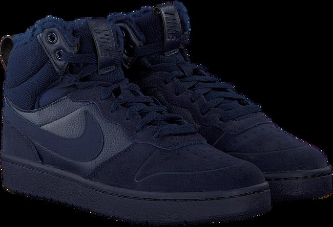 Blauwe NIKE Hoge sneaker COURT BOROUGH MID KIDS GQf1A9HL