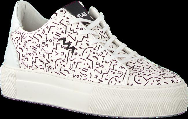 Witte FLORIS VAN BOMMEL Lage sneakers 85297  - large