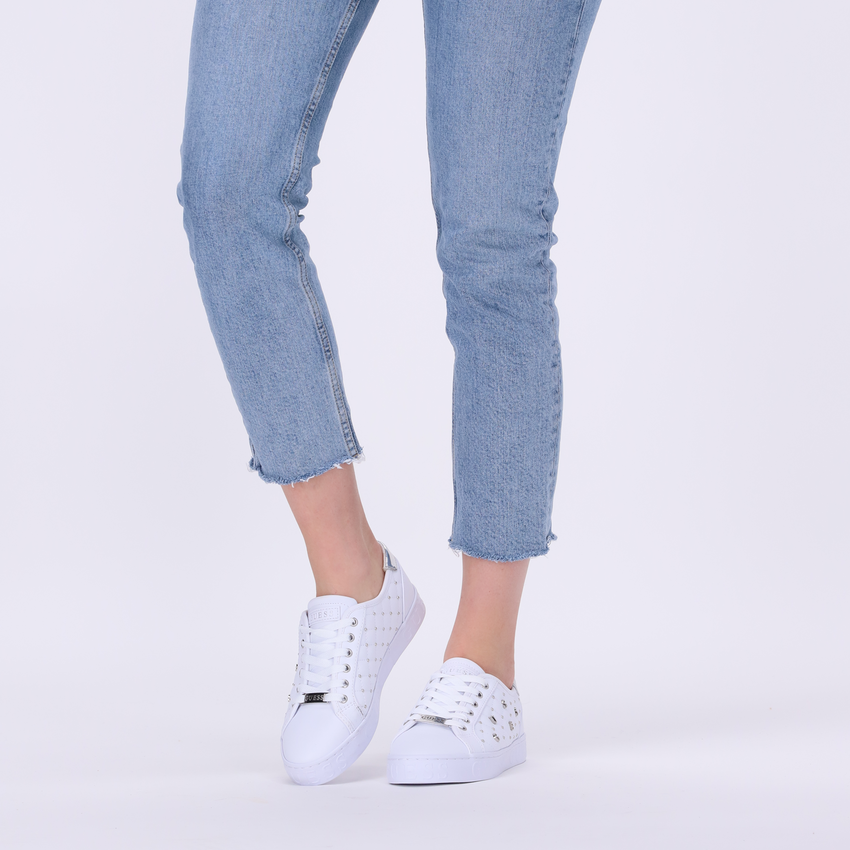 Witte GUESS Lage sneakers GLADISS  - larger