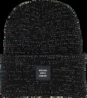 Zwarte HERSCHEL Muts ABBOTT REFLECTIVE - medium