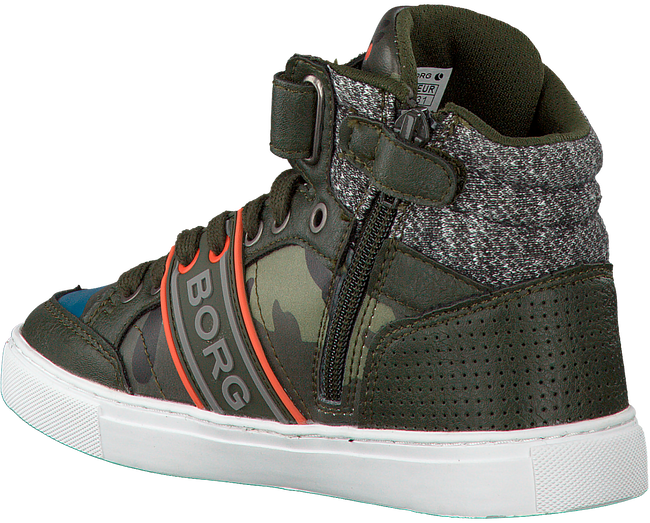Groene BJORN BORG Sneakers MID CAM  - large