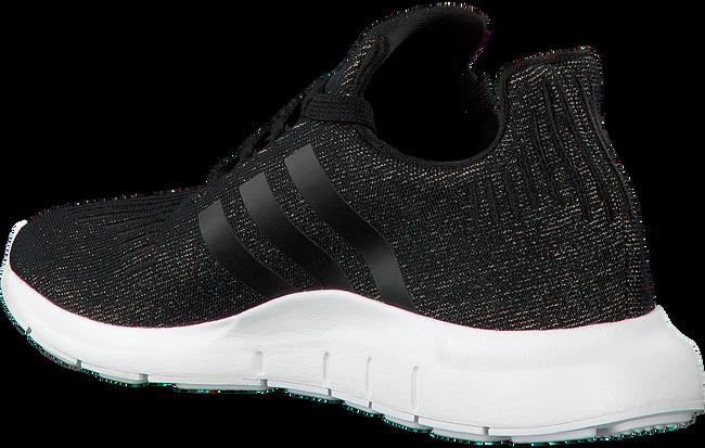 Zwarte ADIDAS Sneakers SWIFT RUN DAMES  - large