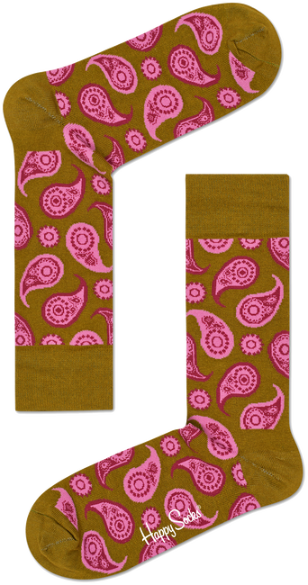 Multi HAPPY SOCKS Sokken PAISLEY - large