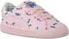 Roze PUMA Sneakers TINY COTTONS CANVAS  - small