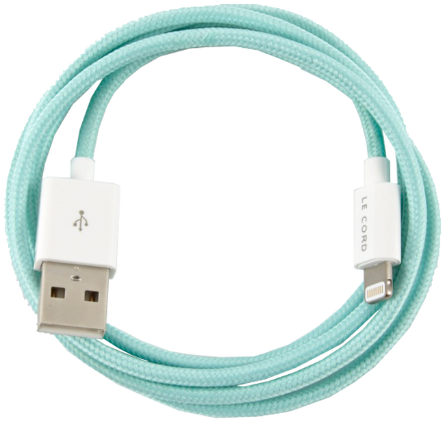 Groene LE CORD Oplaadkabel SYNC CABLE 1.2 - large