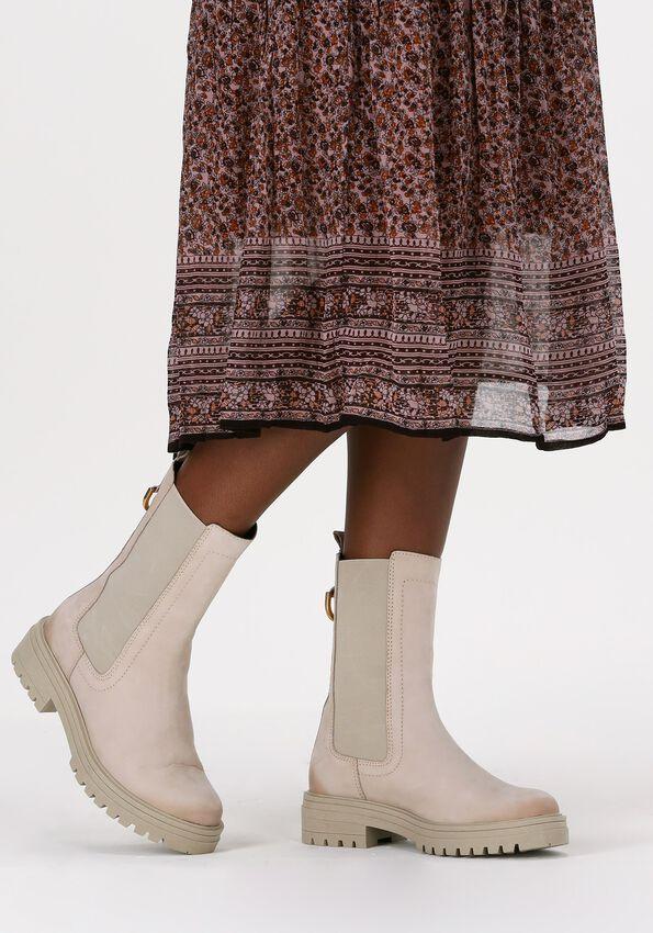 Beige OMODA Chelsea boots LPMONK-05  - larger