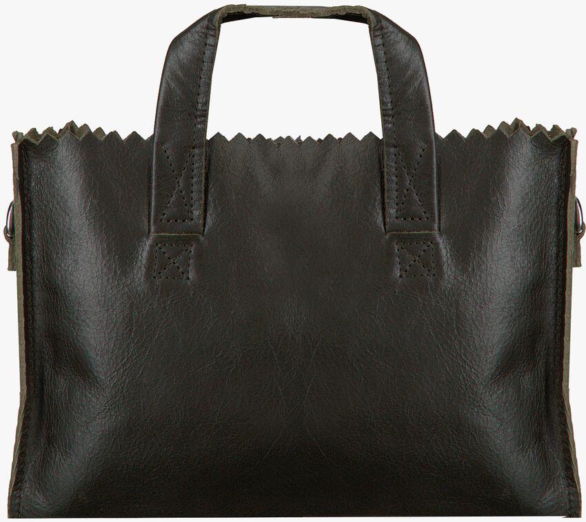Zwarte MYOMY Schoudertas MY PAPER BAG HANDBAG MINI  - larger
