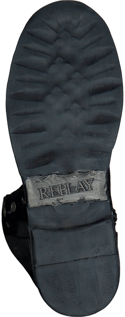 Zwarte REPLAY Veterboots SHIE  - large