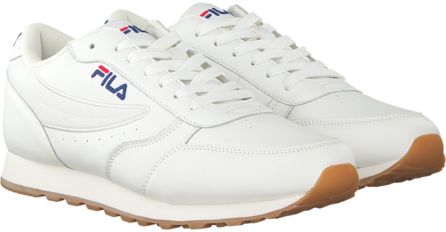 Witte FILA Sneakers ORBIT JOGGER LOW MEN  - large