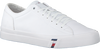 Witte TOMMY HILFIGER Sneakers CORPORATE LEATHER SNEAKER - small