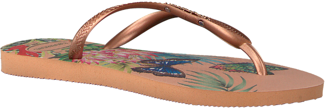 Roze HAVAIANAS Slippers SLIM TROPICAL  - large