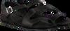 Zwarte RED-RAG Sandalen 79208  - small
