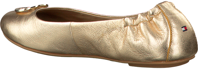 TOMMY HILFIGER BALLERINA'S FLEXIBLE GOLD BALLERINA - large