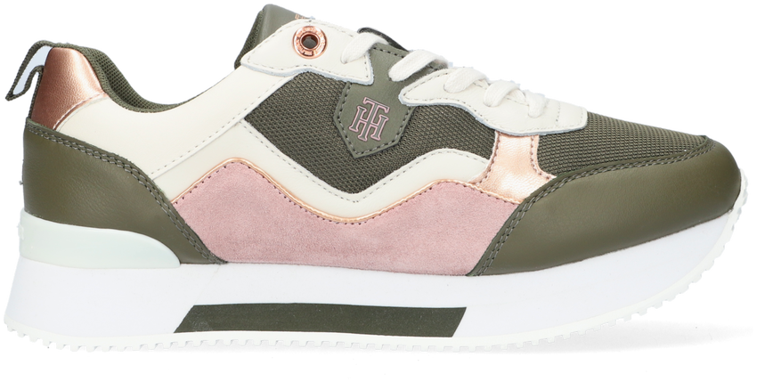 Groene TOMMY HILFIGER Lage sneakers ACTIVE CITY  - larger