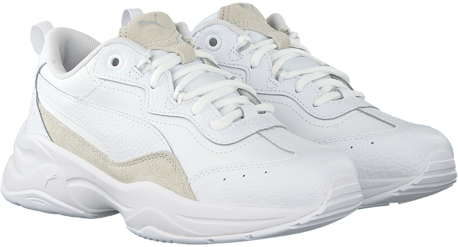 Witte PUMA Lage sneakers CILIA LUX  - large
