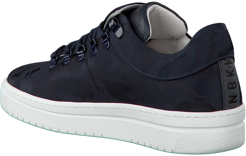 e27f9c1117f Blauwe NUBIKK Sneakers YEYE CAMO WOMAN - Omoda.nl