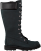 Zwarte TIMBERLAND Hoge sneaker COURMA KID GIRLS TALL ZIP  - small