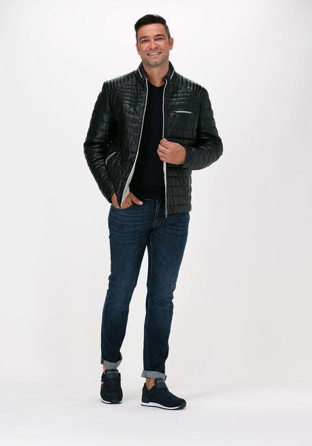 Blauwe VANGUARD Slim fit jeans V7 RIDER STEEL BLUE WASH - large