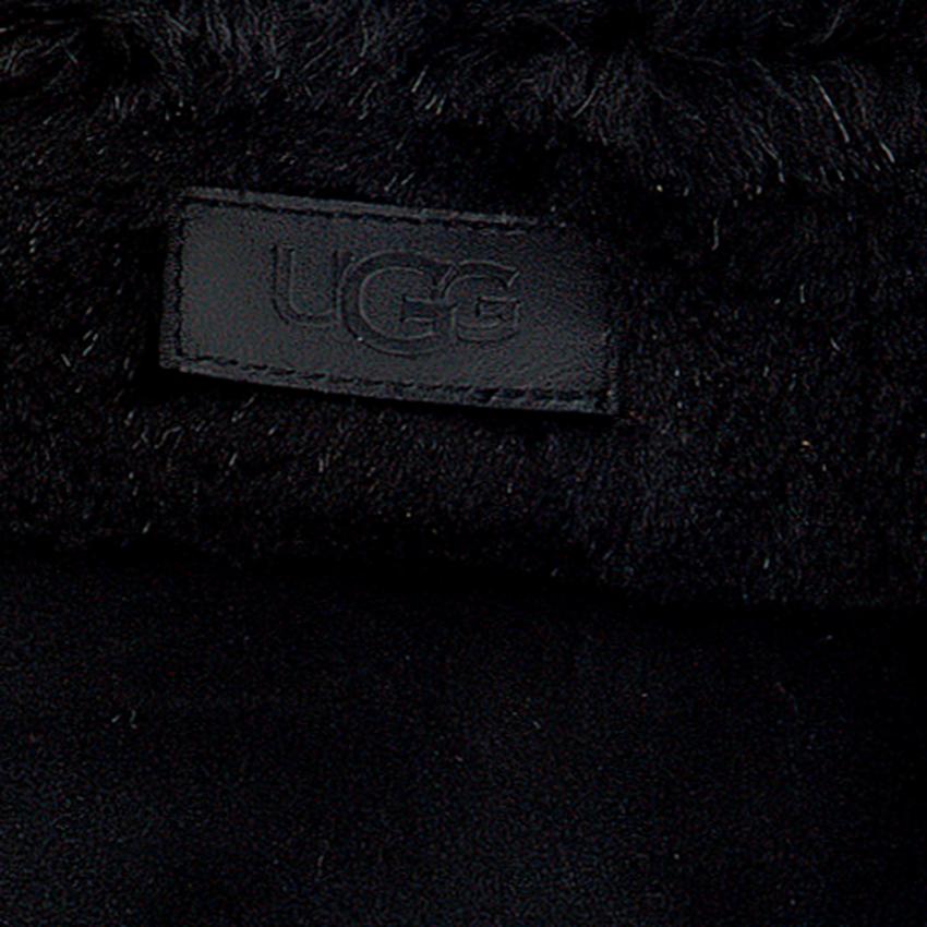 Zwarte UGG Handschoenen TURN CUFF GLOVE  - larger