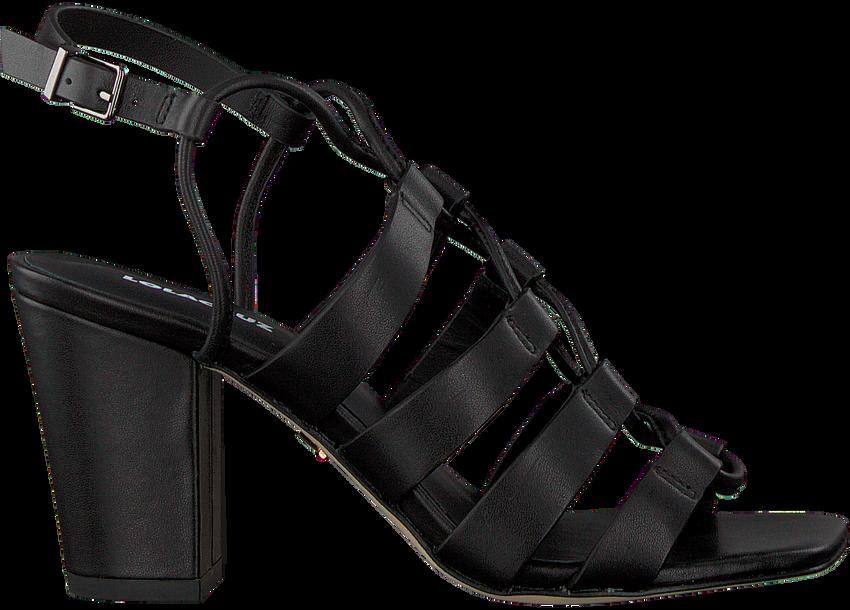 Zwarte LOLA CRUZ Sandalen 341Z10BK  - larger