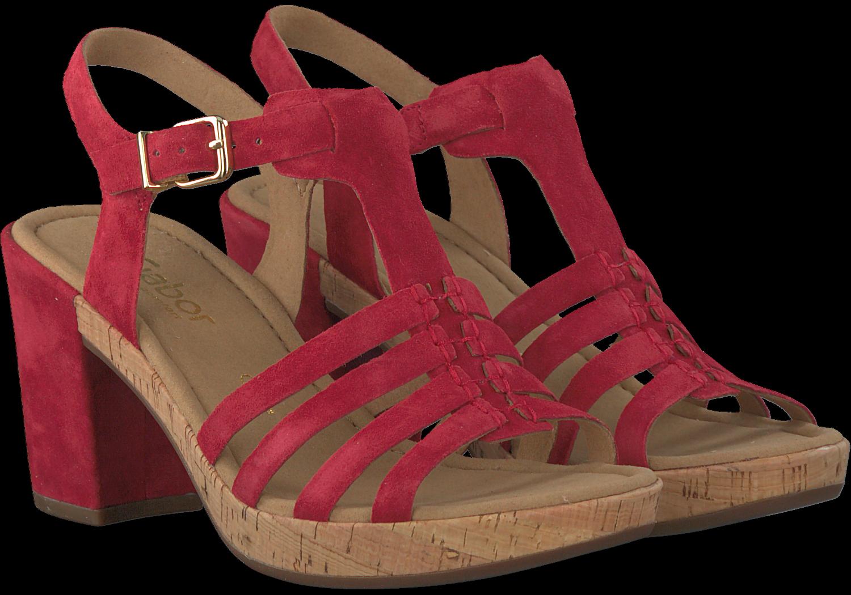8 Sandales Rouges Par Gabor NZp5qcd