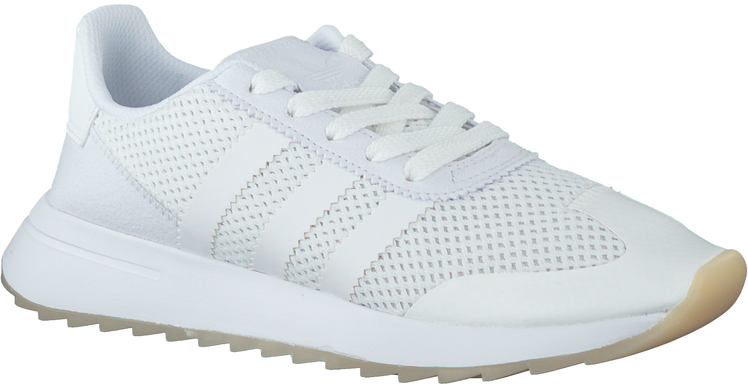 938a968e152 Witte ADIDAS Sneakers FLASHBACK W - large. Next
