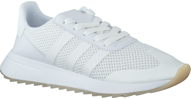 Witte ADIDAS Sneakers FLASHBACK W  - large