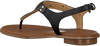 Zwarte MICHAEL KORS Sandalen MK PLATE THONG - small