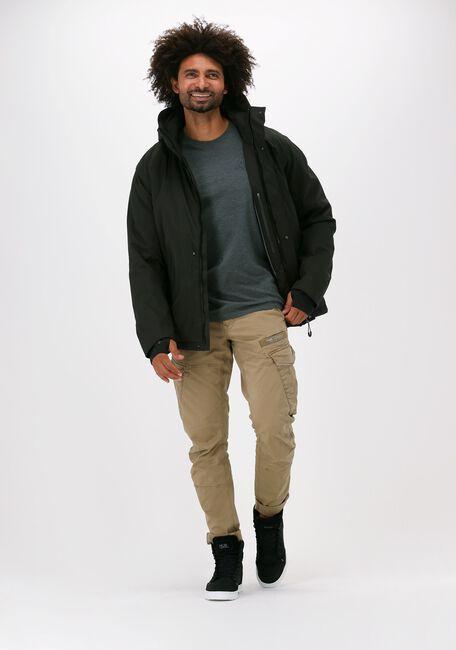 Groene KRAKATAU Gewatteerde jas QM300  - large