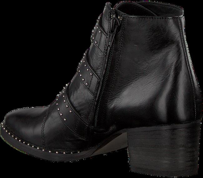 Zwarte PAUL GREEN Enkellaarsjes 9125 - large