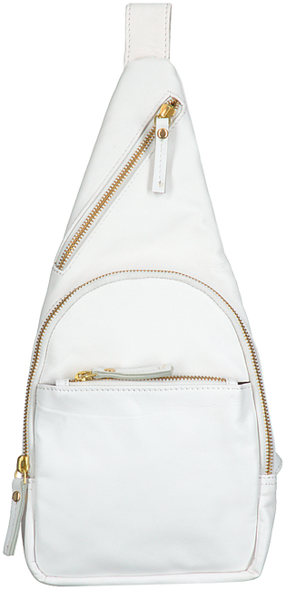 Witte EST'SEVEN Schoudertas EST' LEATHER BAG MIREL  - large