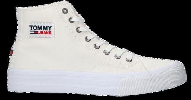 Witte TOMMY HILFIGER Hoge sneaker MID CUT LONG LACE UP VULC  - large