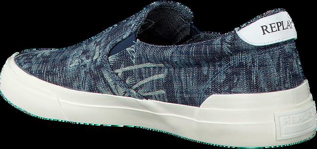 Blauwe REPLAY Sneakers HOBS  - large