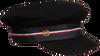 Zwarte TOMMY HILFIGER Pet TH BAKER BOY HAT MELTON  - small