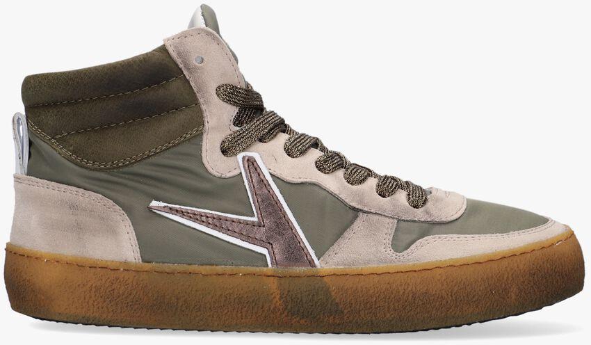 Groene ARCHIVIO 22 Hoge sneaker 541  - larger