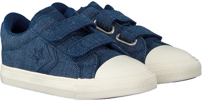 Blauwe CONVERSE Sneakers STAR PLAYER 2V OX KIDS  - large