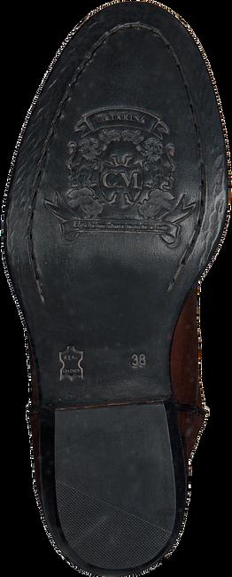Cognac CATARINA MARTINS Lange Laarzen NOMAD HIGH EMBROIDERY  - large