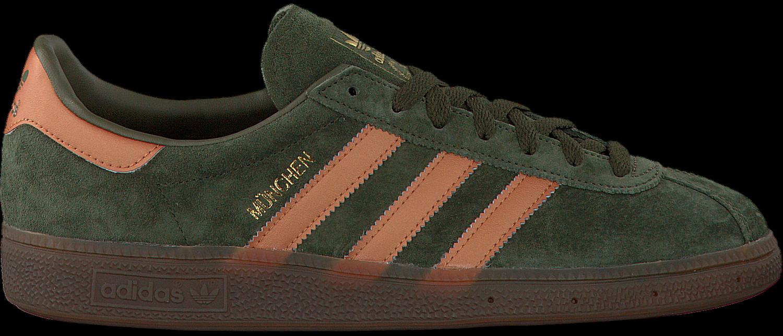 Vert Adidas Sneakers Hommes Munich xsucf6a